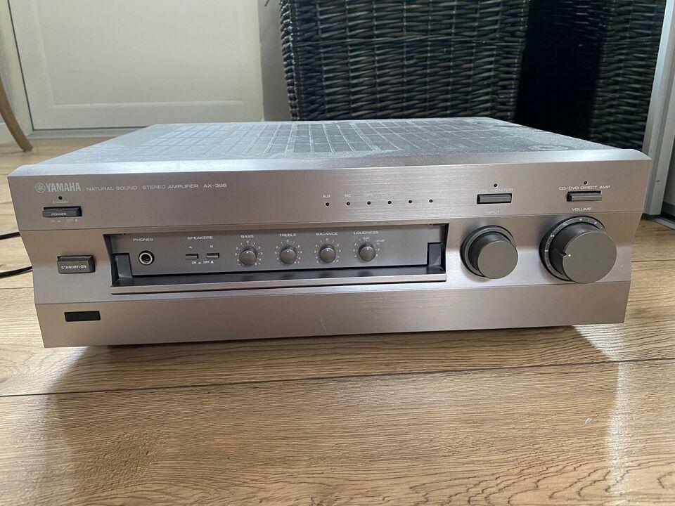 Forstærker, Yamaha, AX -396