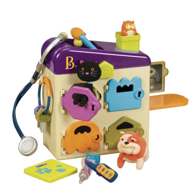 B Pet Vet Toy Doctor Kit For Kids Pretend Play 8 Pieces 2day Delivery