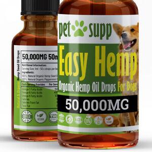 Hemp Oil For Dogs ⭐ Joint Support ⭐ Dog Calming ⭐ Dog Hemp Oil
