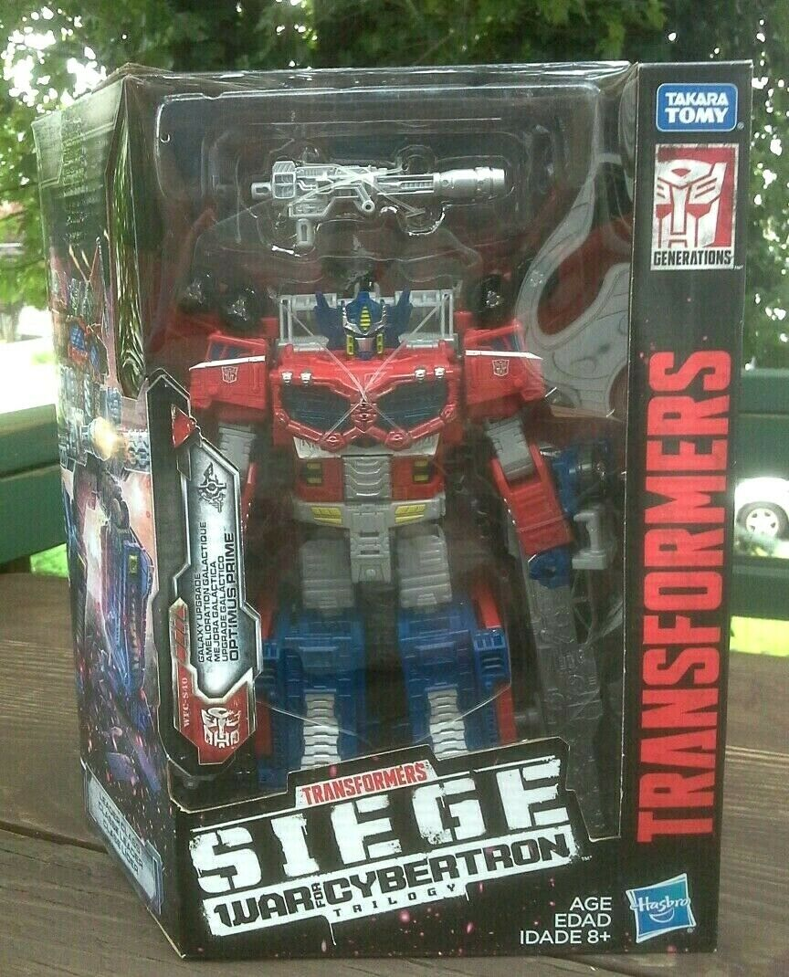 Transformers War for Cybertron SIEGE Galaxy Upgrade Optimus Prime