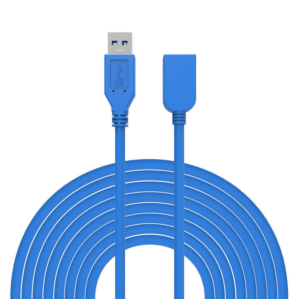 3.0 Metre USB 3.0 Extension Extend A Male to Female High Speed Fast Cable GO1