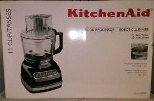 Kitchenaid Food Processor 11 Cup Exactslice Onyx Black