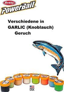 Berkley PowerBait Forellenteig Natural SCENT Verschiedene Farben: Garlic 50g - Angern, Deutschland - Berkley PowerBait Forellenteig Natural SCENT Verschiedene Farben: Garlic 50g - Angern, Deutschland