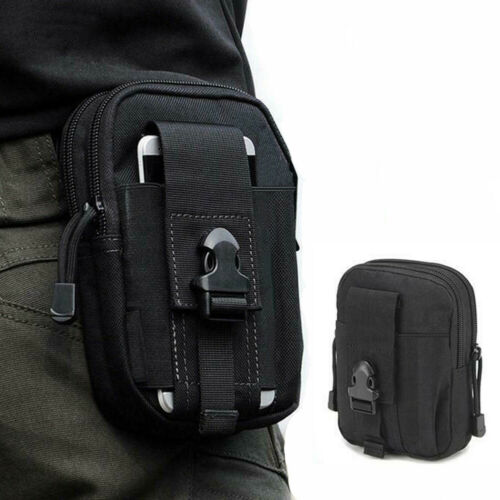 Tactical Army Military Molle Pouch Cell Phone Pocket Case Waist Pack Belt Bag
