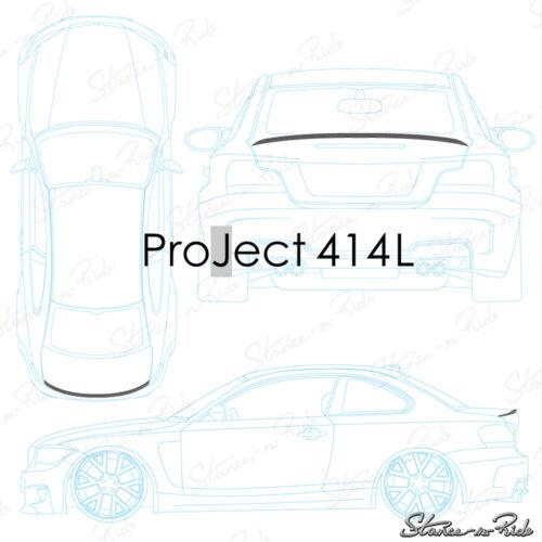 Fits: Toyota Corolla 1993-97 Rear Add-on Trunk Lip Spoiler StanceNride 414L