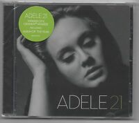 Adele 21 CD 2011 Rolling in the Deep, Someone Like You , Rumour Has it