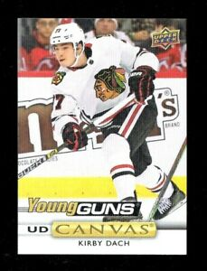 Kirby-Dach-2019-20-Upper-Deck-Series-2-Young-Guns-UD-Canvas-Rookie-RC-C223