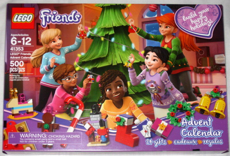 NEW LEGO FRIENDS ADVENT CALENDAR 41353 BUILDING KIT 500 PC 2018 EDITION