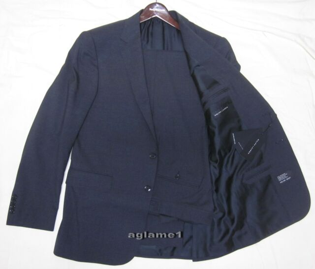 Polo Black 42 Label Suit Gray R 42r Anthony Italy Ralph Lauren Made Charcoal eDI29YHbWE