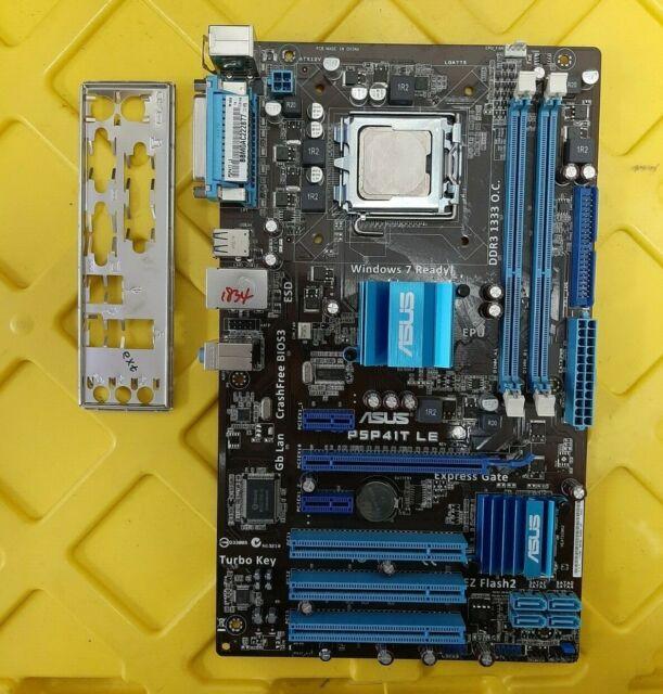ASUS Motherboard P5P41T LE, LGA775 DDR3 Intel® G41 / ICH7 + IO-Shield