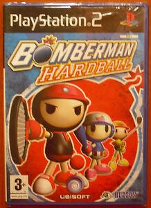 Bomberman-Hardball-Hudson-PlayStation-2-PS2-PStwo-Pal-Espana-NUEVO-A-ESTRENAR