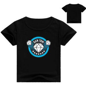 Dan-TDM-The-Diamond-Minecraft-Youth-Adult-T-Shirt-Size-14-L-AU-Shop
