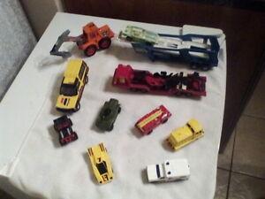 Vintage-Matchbox-Diecast-vehicles-1970s-1980s-inc-Flash-fire-Super-Kings