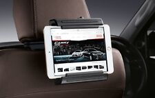 """GENUINE TOYOTA CAR ACCESSORY TABLET HOLDER-FOR NOT OVER 10"""" SCREEN:BLACK"""