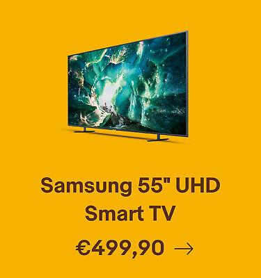"Samsung 55"" UHD Smart TV"