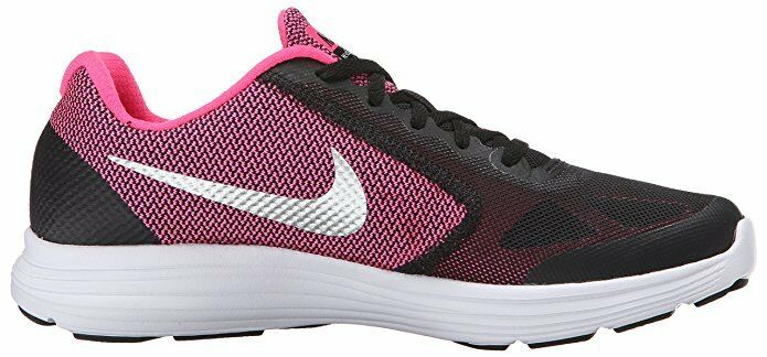 Nike Women's Revolution 3 Running Shoe (GS) Sz 6 Youth US Black/Pink Kid Sneaker