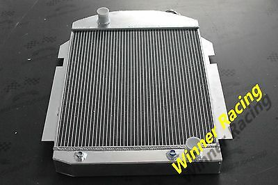 Aluminum Radiator For CHEVY PICKUP//TRUCK W//SBC//BBC 350 V8//L6 1938 1939 1940