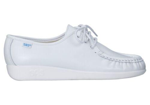 Original SAS Siesta White 0038-001 W Wide Women