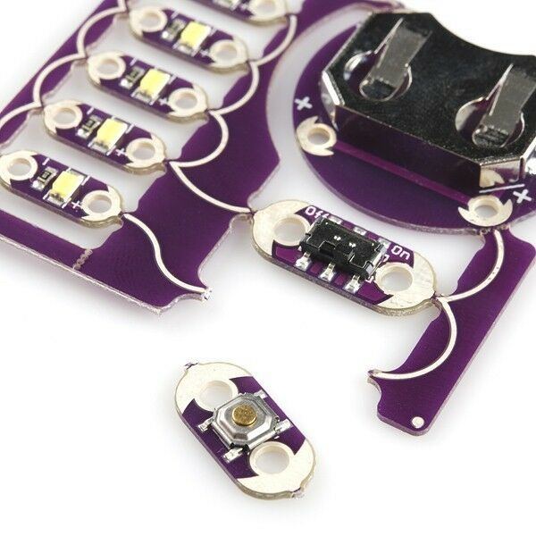 PredoSnap LilyPad E-Sewing Kit E-Textiles Sewable Wearable Wearable Wearable Electronics 3ebe96