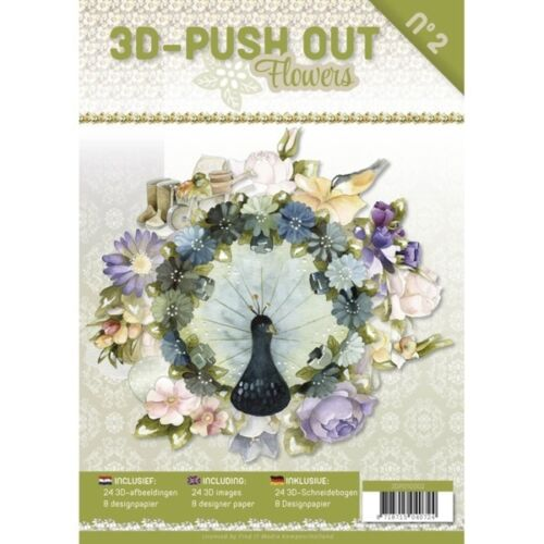 Flowers 2 3D Push Out Book