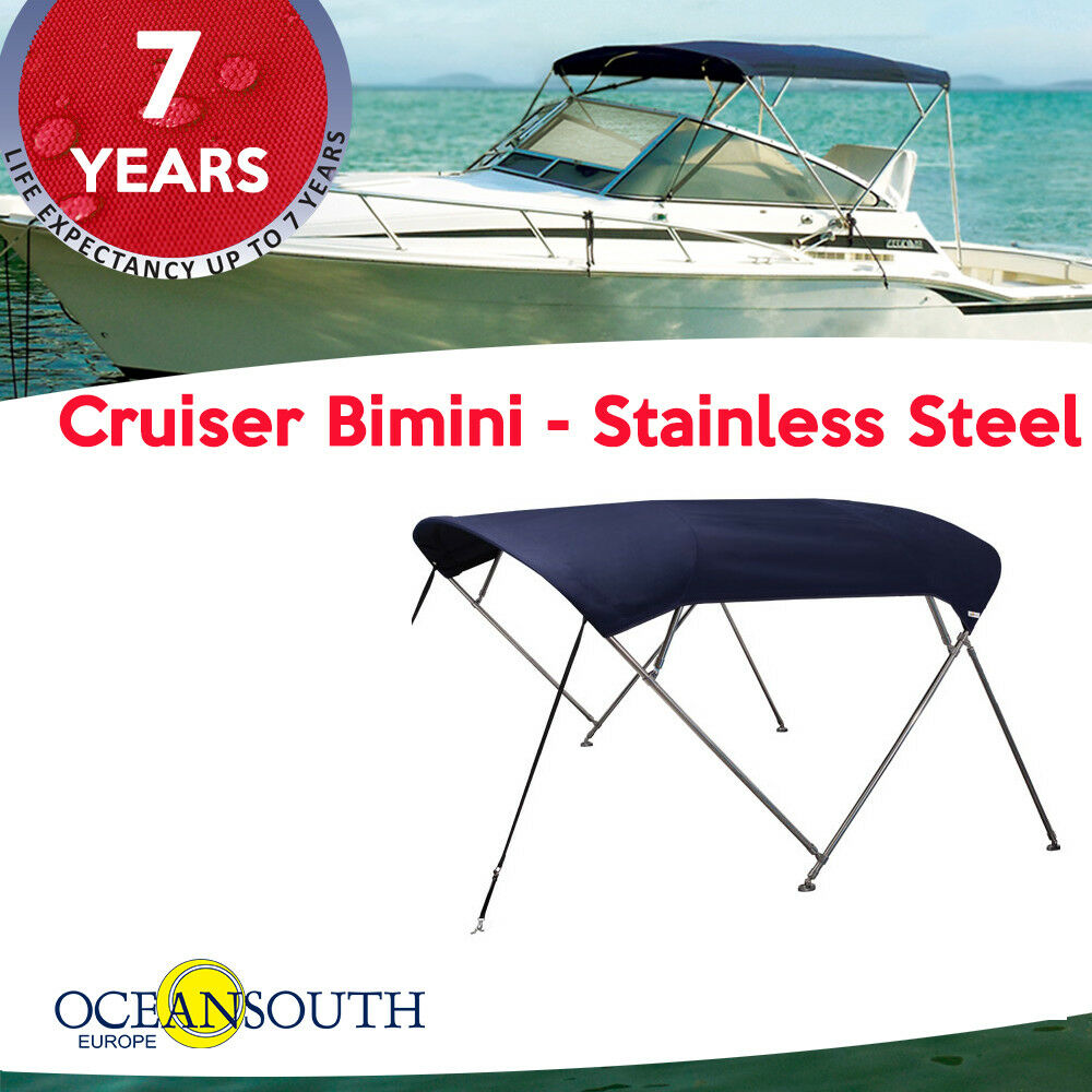 Oceansouth Cruiser Bimini – Stainless Steel