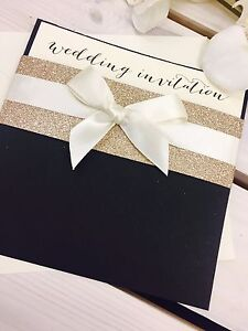 Image Is Loading Black Gold Glitter Ribbon 039 Caron Pocket
