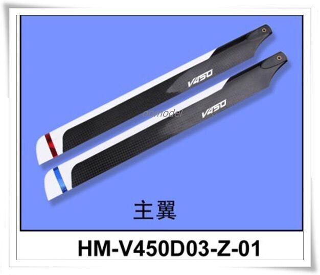 3sets Walkera V450d03 parts HM-V450d03-Z-01 Main rossoor Blades V450D03 Spare Part