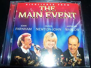 The-Main-Event-Highlight-CD-Ft-John-Farnham-Olivia-Newton-John-amp-Anthony-Warlow