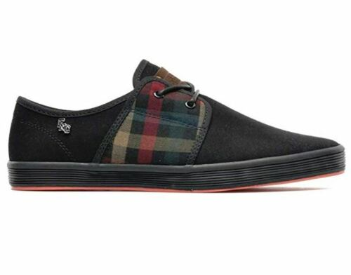Fish /'n/' Chips by Base London Spam 2 Canvas Casual Mens Trainers Boat Shoes Size