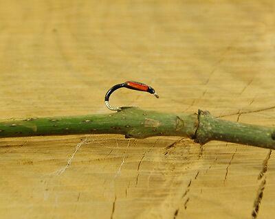 noir /& orange buzzer taille 14 truites mouches Talon dix