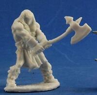 Reaper Miniatures Dark Heaven Bones Cuth Wolfson Barbarian RPR 77373
