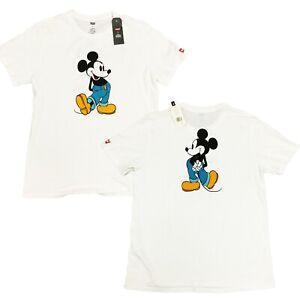 Levi-039-s-Levi-X-22491-Men-039-s-Mickey-Mouse-Short-Sleeve-Crew-Neck-Tee-T-Shirt-XL