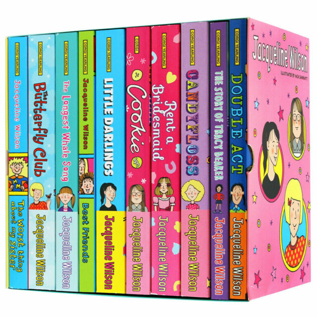 Jacqueline Wilson Collection 10 Books Set Pack Brand New. Best Friends