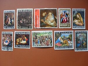New-Zealand-Christmas-issues-1960-fine-used-10