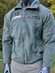 Gen 3 US Army Polartec Cold Weather CW Foliage ACU Fleece Military Shirt Jacket