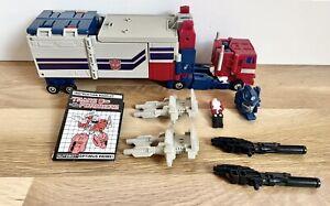 Vintage Transformers G1 Powermaster Optimus Prime - 1980s Hasbro 100% Complete