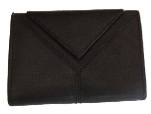 Holds 20 Cards Smart Card Case Black Stylish Leather Credit Card Holder