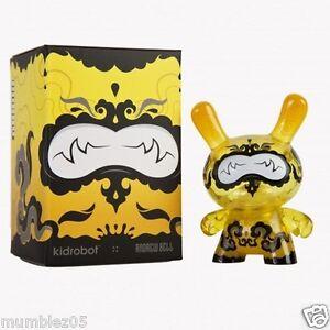 Kidrobot-Dunny-Lemon-Drop-3-034-Andrew-Bell-SEALED-NEW-2014-Vinyl-Plastic-Toy-Fig