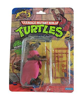 Playmates Toys Teenage Mutant Ninja Turtles Splinter Action Figure For Sale Online Ebay