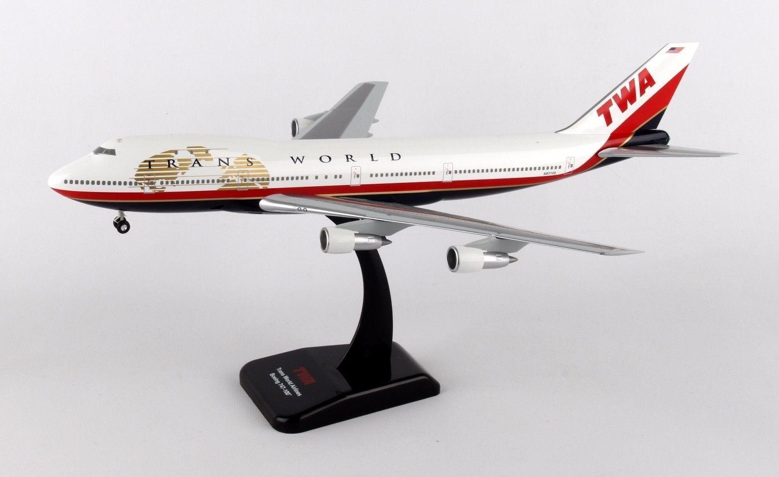 Hogan Wings 0229, Boeing 747-100, TWA, 1 200