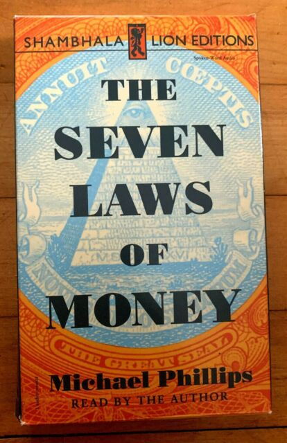 THE SEVEN LAWS OF MONEY...Michael Phillips...1997...Audiobook