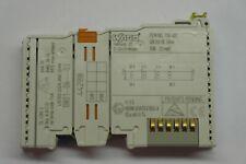 digitale Eingangsklemme NEU WAGO 750-402  4-Kanal-Digitaleingang; DC 24 V; 3 ms