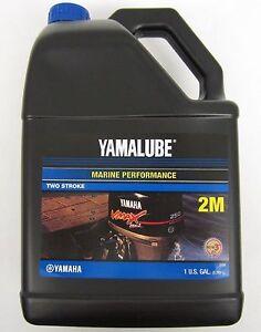 Yamalube Genuine Oil 1 Gallon 2M Two Stroke outboard motor TC-W3