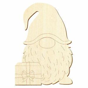 Holz Weihnachtswichtel V1 Deko Basteln 3-50cm