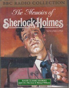 The-Memoirs-Of-Sherlock-Holmes-Vol-1-Arthur-Conan-Doyle-2-Cassette-Audio-Book