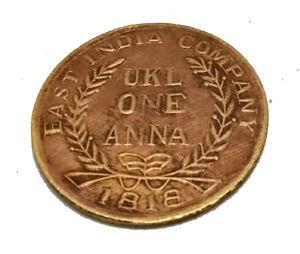 one anna coin 1818