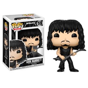 Vinyl Figure Character In Box Funko Pop Rocks Metallica Kirk Hammett Pop