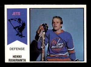 1974-O-Pee-Chee-WHA-31-Heikki-Riihiranta-RC-EXMT-X1510332