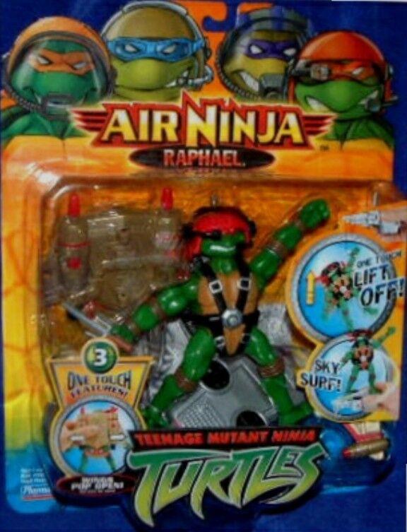 Teenage Mutant Ninja Turtles 5  Air Ninja Rapheal NEW FACTORY SEALED 2005
