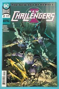 New-Challengers-2-DC-Comic-1st-print-2018-unread-NM